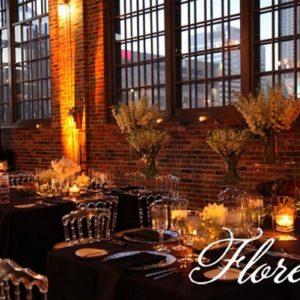 steam_whistle_wedding_reception_flowers_in_black