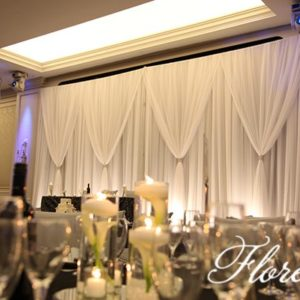 Hazelton Manor Wedding with Calla Lilies and Candles