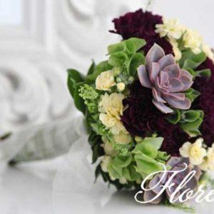 succulent_bridal_bouquet_toronto_wedding